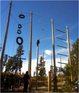 High Ropes and Zip Line 1